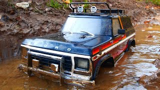 Dirty Car off road in the mud — RC Car OFF Road stuck the mud #RcCars