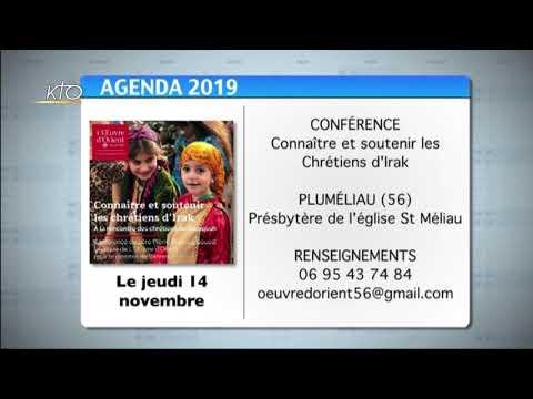 Agenda du 8 novembre 2019
