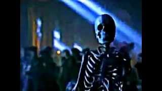 """Moonwalking Skeleton performing """"Is It Scary"""" from """"Ghosts"""""""