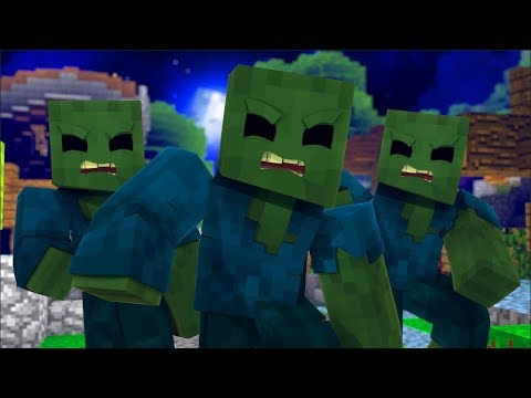 Modded Left 4 Dead 2 Minecraft Mod Funny Moments #1 - Fighting A GHAST in Left 4 Dead??