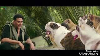 Akshay Kumar vs dogs very funny comedy 2.0