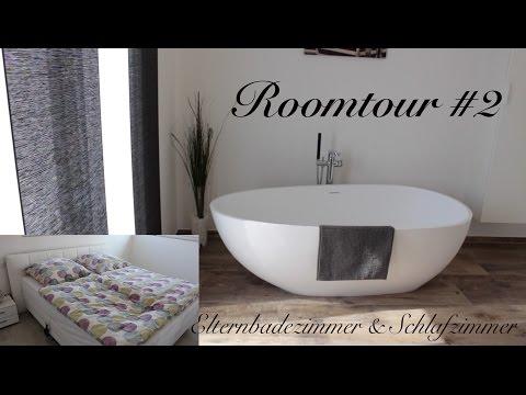 Roomtour #2 | Schlafzimmer & Elternbadezimmer | Luxhaus