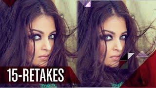 Omg!! Aishwarya Rai Bachchan Does 15 RETAKES For A