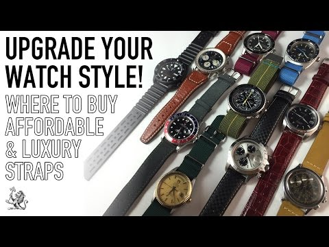 10 Affordable To Luxury Watch Straps – Perfect For Rolex, Omega, Breitling, Tissot & Seiko