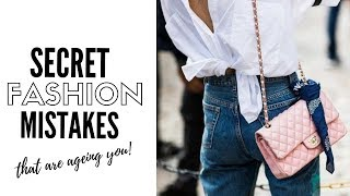 10 Fashion Mistakes That Are Ageing You - How To Style