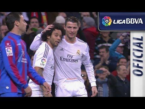 Resumen   Highlights Real Madrid (3-0) Levante UD - HD