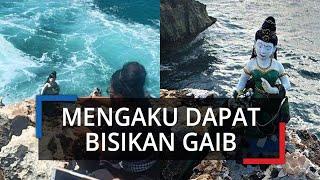 Viral Foto Kemunculan Patung Nyi Roro Kidul di Pantai Bali, Pelaku: Minta Maaf, Saya Dapat Bisiskan
