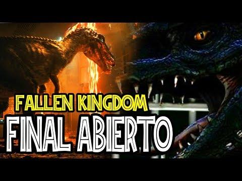 REVELADO como será el FINAL de JURASSIC WORLD FALLEN KINGDOM