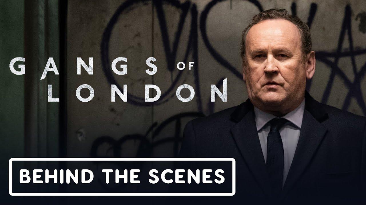 Фичуретка экшн-сериала «Банды Лондона»