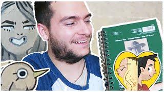 Drawing in TONED TAN sketchbooks!
