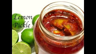 Instant Lemon Pickle | South Indian style Lemon Pickle | Nimbu ka Achar | Nimmakaya Uragaya/Pickle
