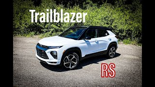 The 2021 Chevy Trailblazer RS - FULL Review and Walk Around - ALL NEW!