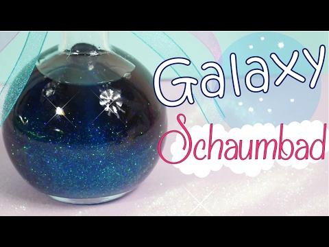 DIY Galaxy Schaumbad   Glitzer Bad   Glitzer Duschgel