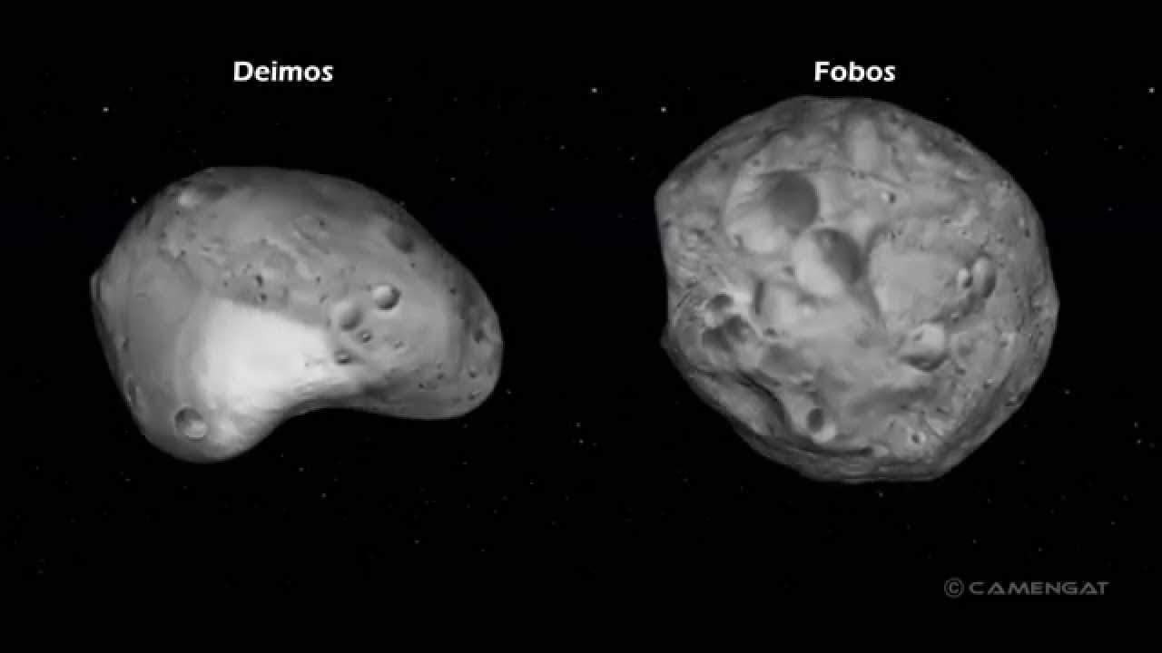 ¿Que pasará con las lunas de Marte?
