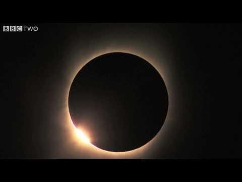 A Rarely Unobstructed View Of A Solar Eclipse