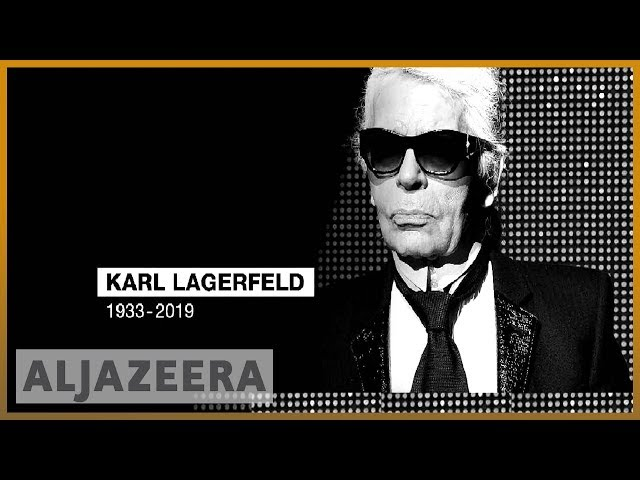 ???????? German fashion icon Karl Lagerfeld dies in Paris at age 85 | Al Jazeera English