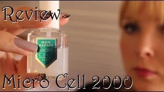 [Review] Micro Cell Nail Repair 2000 - Endlich lange starke Nägel?