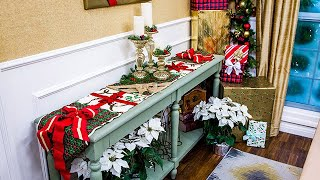 DIY Christmas Table Runner - Home & Family