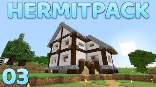 Hermitpack Modded Minecraft 03 Quark Mod Showcase & House Exteriors