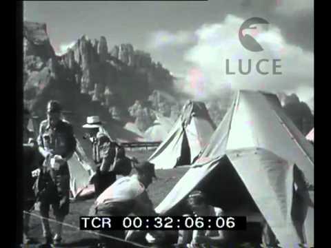 Campeggio sulle Dolomiti della Sezione Universitaria del club Alpino italiano