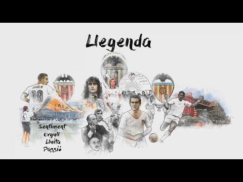 Animación del vídeo Prólogo en valenciano para el Valencia CF