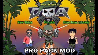 Mini Militia Pro Pack Hacking (NO ROOT) mini militia 2.2.52 mod + New skins