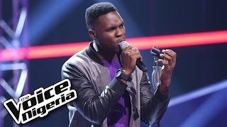 Nonso Bassey Sings 'Kiss From A Rose' Blind Auditions  The Voice Nigeria 2016