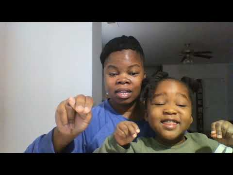 Sign Language Alphabet and letter sounds with 3 yr old.