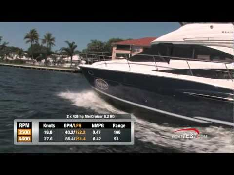 Meridian Yachts 341 Sedan 2011 Yacht Full Test / Performance Review  – By BoatTest.com