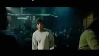 8 mile  first battle   Eminem vs free world