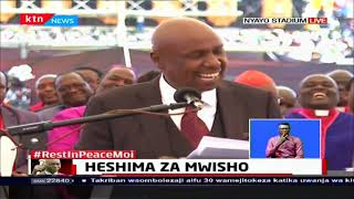 Moi's Final Salute: Gideon Moi eulogises his father at Nyayo National Stadium