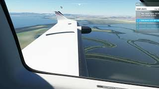 Microsoft Flight Simulator 2020 Landing at Napa Airport