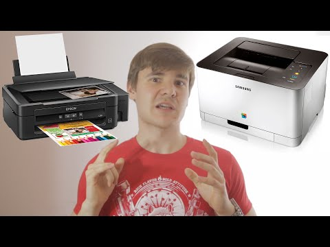 Impresoras láser vs Impresoras de tinta - VTechnoun