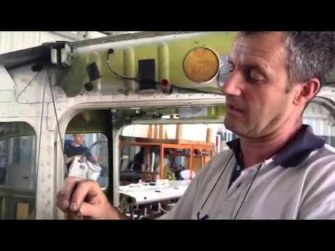 Stefano Zanzottera spiega come si fa la manutenzione ad un aereo