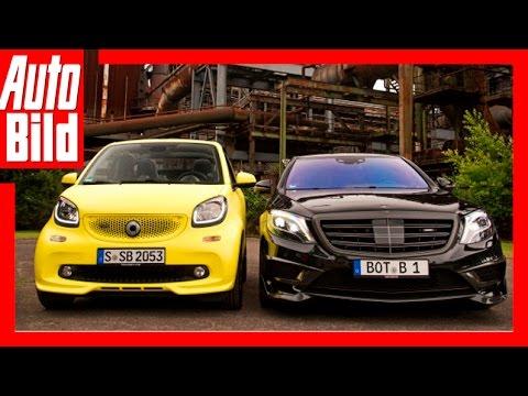 Brabus: Smart fortwo vs. Mercedes Rocket 900 (2016)