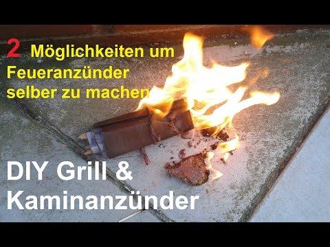 Anzünder für Grill & Kamin selber machen – DIY Grillanzünder & Kaminanzünder selbst herstellen