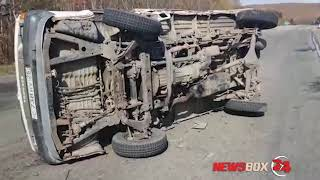 В аварии с участием трех машин под Большим Камнем пострадали два человека