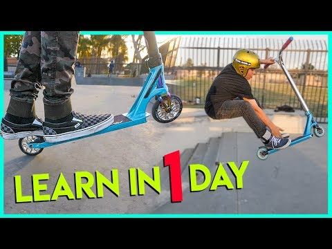 5 SCOOTER TRICKS YOU CAN LEARN IN ONE DAY!