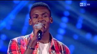 Charles Kablan - Hello | The Voice of Italy 2016 - Blind Audition