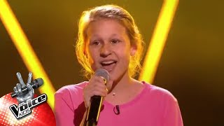 Axelle   'Heavy' | Blind Auditions | The Voice Kids | VTM