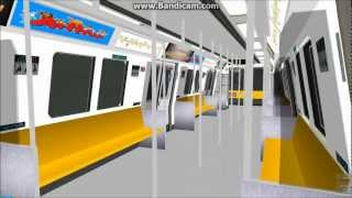 [OpenBVE][Route Play] C151 Harbourvale Line (C100A Livery)(AJRT)(Generation 2)
