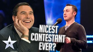 NICEST contestant EVER?! | Unforgettable Audition | Britain's Got Talent