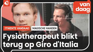 Fysiotherapeut van Wilco Kelderman blikt terug op Giro d'Italia
