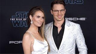 "Matt Lanter And Angela Lanter ""Star Wars: The Rise Of Skywalker"" World Premiere Blue Carpet"