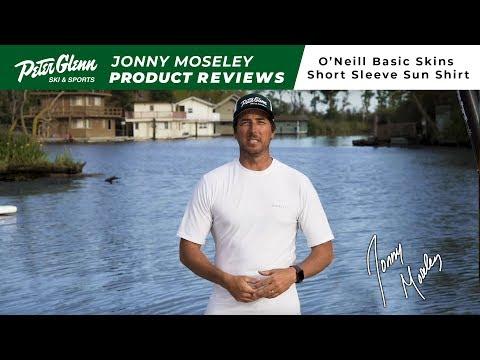 2019 O'Neill Skins Basic Rashguard T-Shirt Review By Peter Glenn