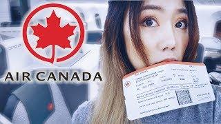 加拿大航空 夢幻客機787-900有多高級?電子窗+質感商務艙&大齡空姐!Air Canada