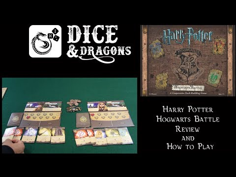 Dice and Dragons - Harry Potter Hogwarts Battle Review and How to Play