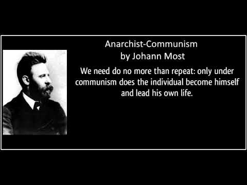 Anarchist-Communism by Johann Most