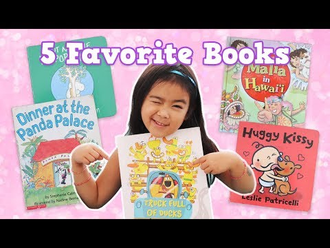5 Books For Kindergarteners, Favorite Kids Books, Kids Book Review