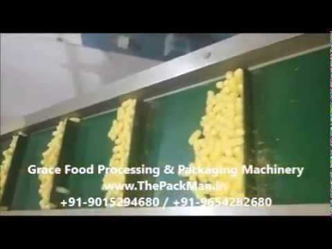Corn Snacks Machine